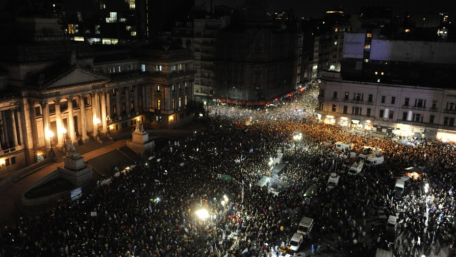 Masivos reclamos al desafuero de Cristina Kirchner