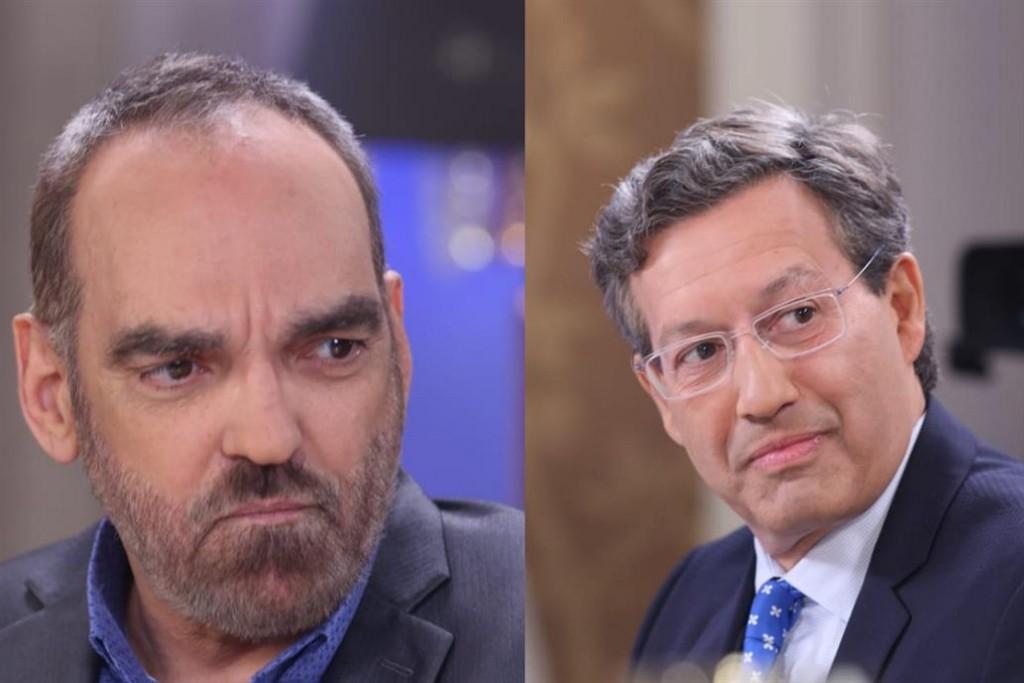Fernando Iglesias y Ceferino Reato en un picante cruce