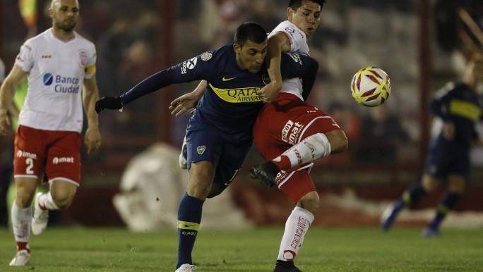 Boca sin talento ante Huracan por la Superliga