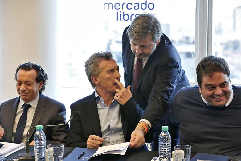 Macri participó de una reunión con empresarios
