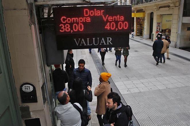 El dólar vuelve a subir y supera los $40