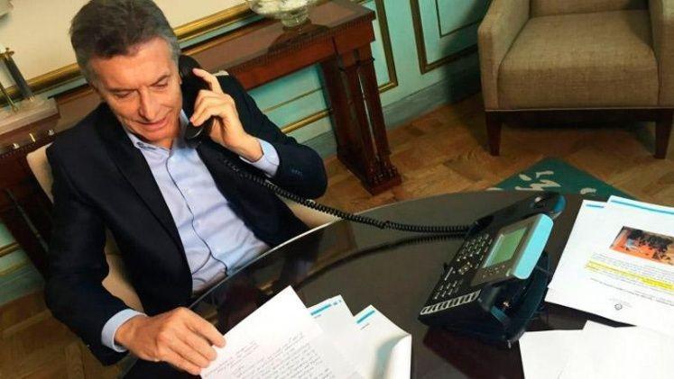 El Presidente hablo con los candidatos Fernandez y Lavagna