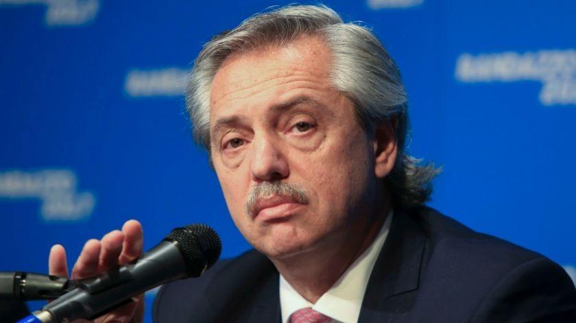 Alberto Fernández con advertencias al Gobierno