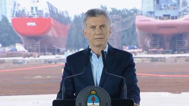 """Macri: Estoy dispuesto """"a dialogar con todos"""""""