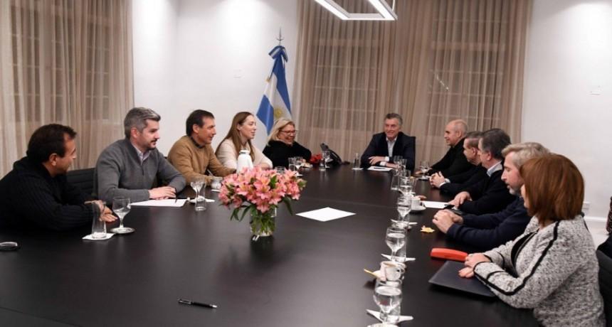 Macri: Mi principal tarea es estabilizar la economía
