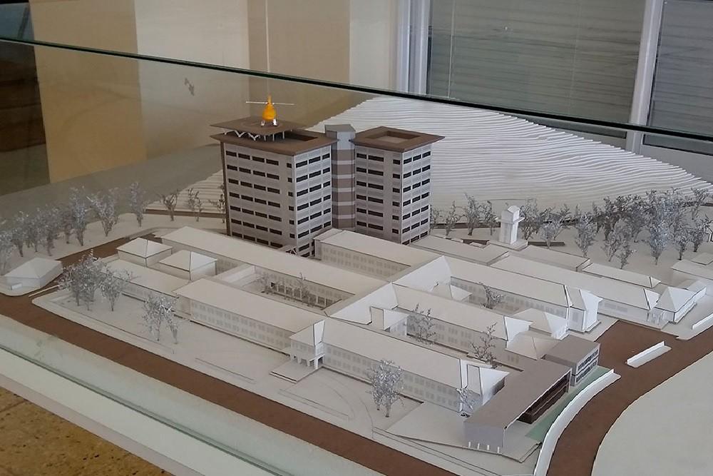 La Provincia proyecta remodelar el hospital San Bernardo