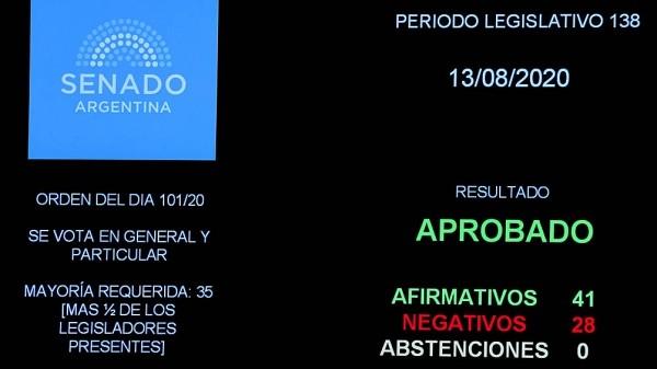 El oficialismo logró la sanción de la ampliación presupuestaria