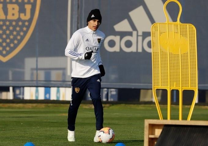 Franco Soldano se suma a los entrenamiento en Ezeiza