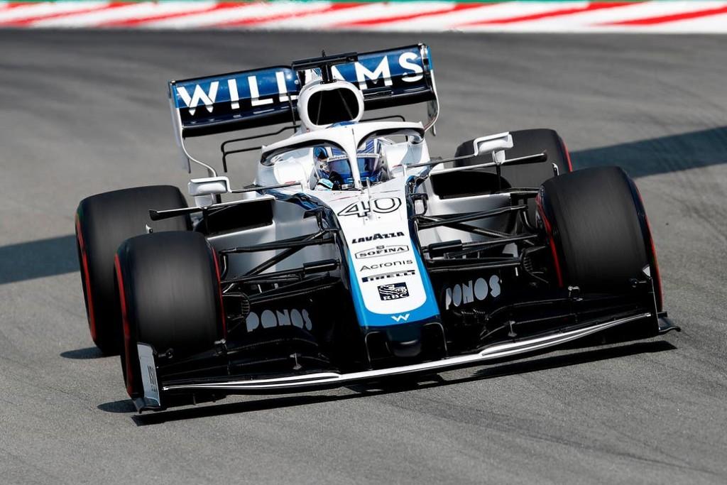 Roy Nissany a bordo de un Williams tuvo su estreno en Montmeló