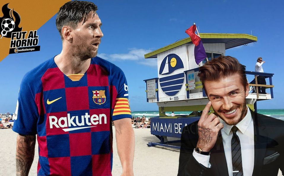 ¿Llionel Messi se muda al Inter Miami de David Beckham?