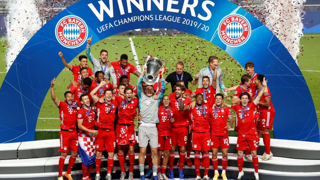Bayern Múnich se consagró campeón de la Champions League