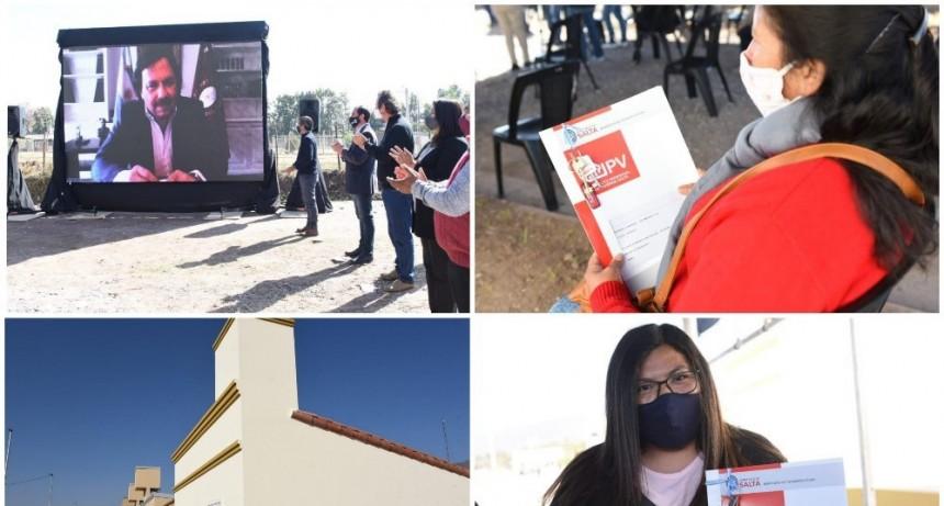 """Sáenz: """"El acceso a la vivienda es un derecho impostergable de cada salteño"""""""
