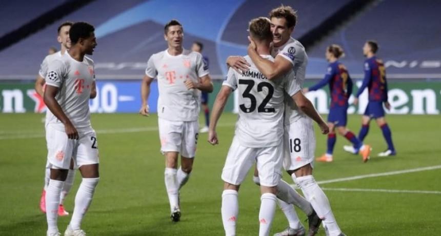El Barça perdió por paliza frente a Bayern Munich