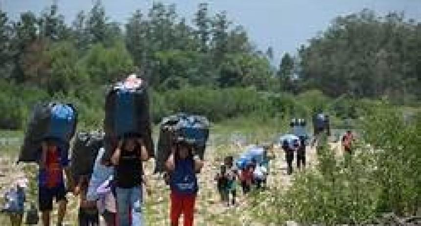 Se descontrola el ingreso de ciudadanos bolivianos en pasos fronterizos del norte de Salta
