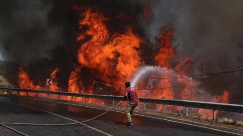 Los incendios en el sur de Europa deja muertos y evacuados