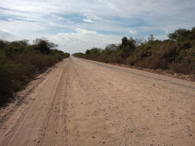 Pavimentan la Ruta 86