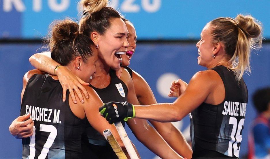Las Leonas empatan ante India en las semifinales de los Juegos Olímpicos