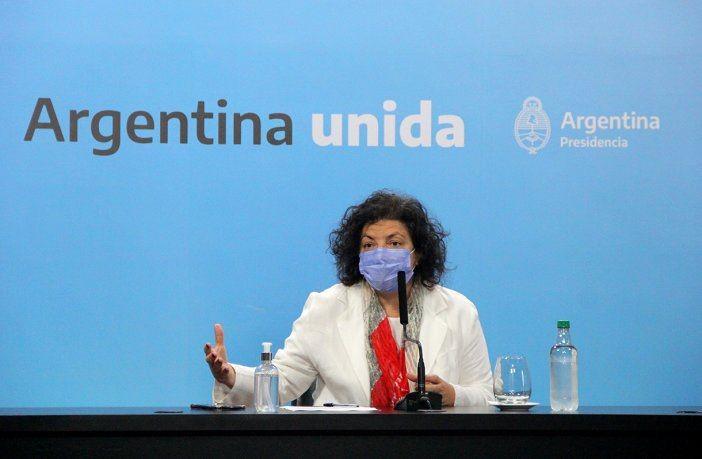 Carla Vizzotti: se evaluará la posibilidad de reforzar con tercera dosis