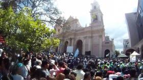 San Lorenzo se une a los peregrinos del Milagro