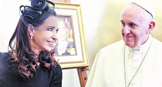 El papa le pidió a Cristina que elija un sucesor