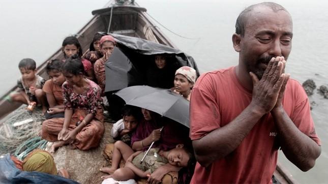 La ayuda de la ONU a civiles está bloqueada, al tiempo que crece el éxodo rohingya