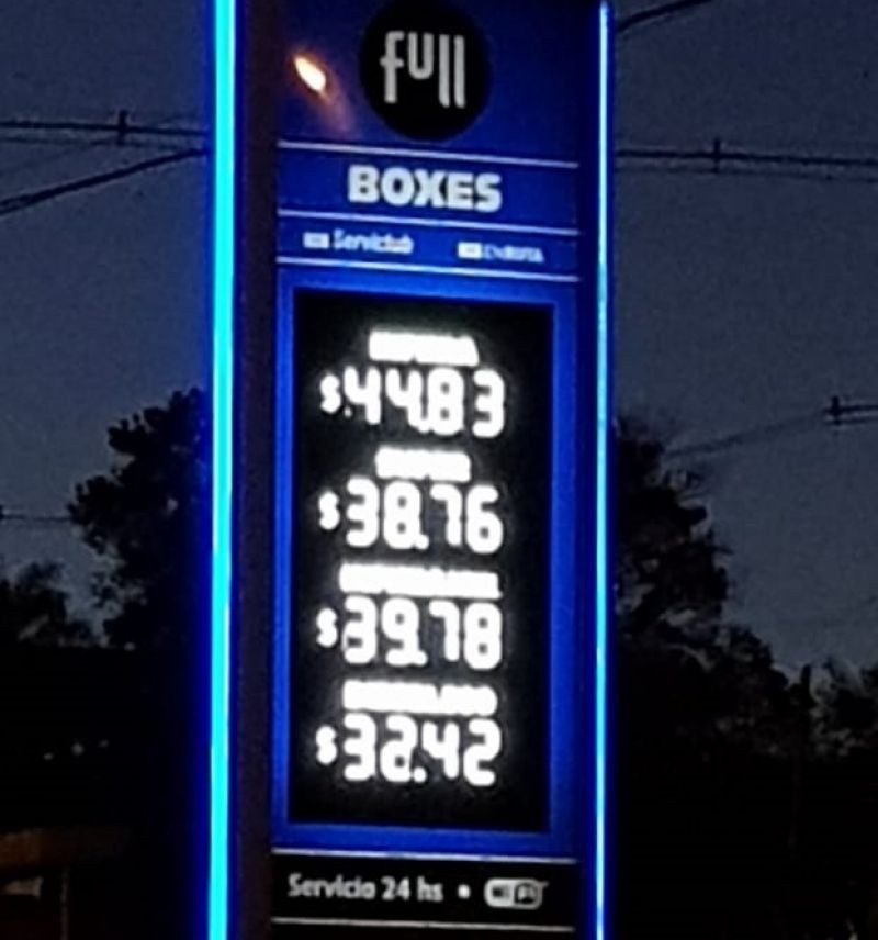 YPF sube sus naftas 9,5% y se le suma Axion con un 12%