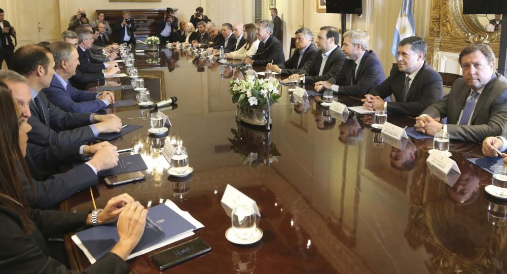 Macri logró apoyo para hacer el ajuste