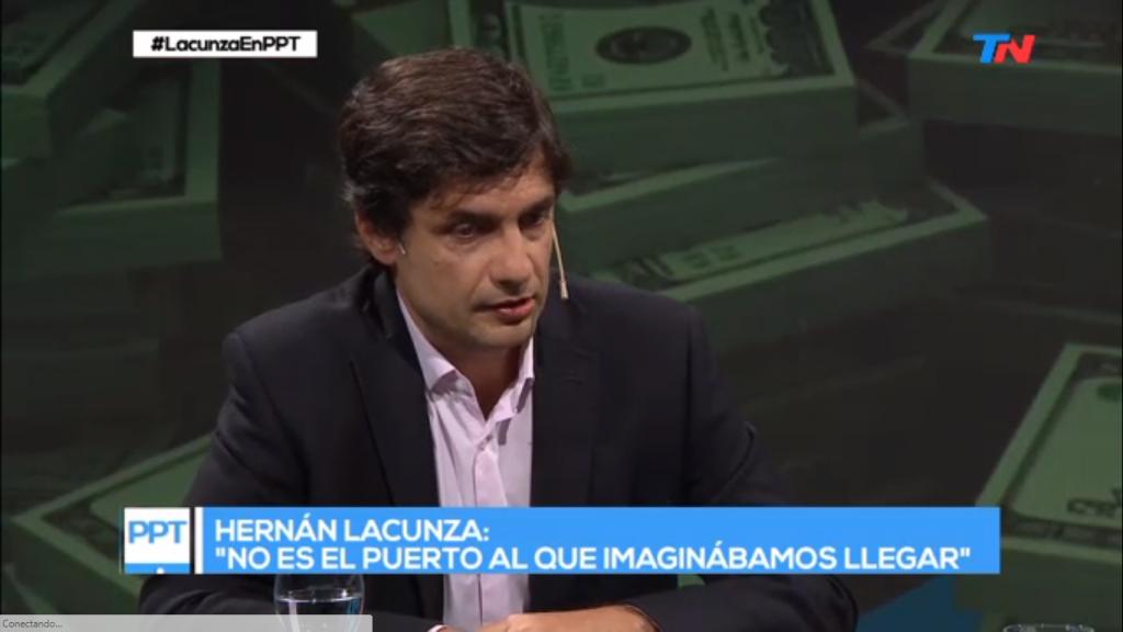 El ministro Lacunza se refirió al control cambiario