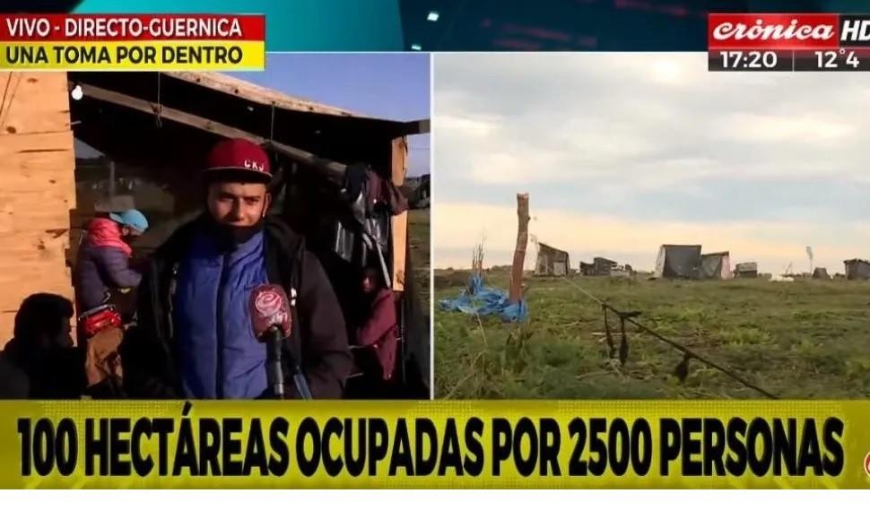 Más de 2500 personas ocupan más de 100 hectáreas en la localidad de Guernica