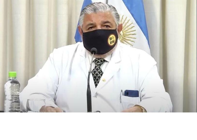 Juan José esteban: La Provincia compró  reactivos con una inversión de $12 millones