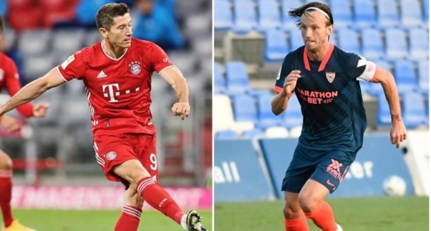 Bayern Munich vs. Sevilla se enfrentan hoy por la Supercopa de Europa