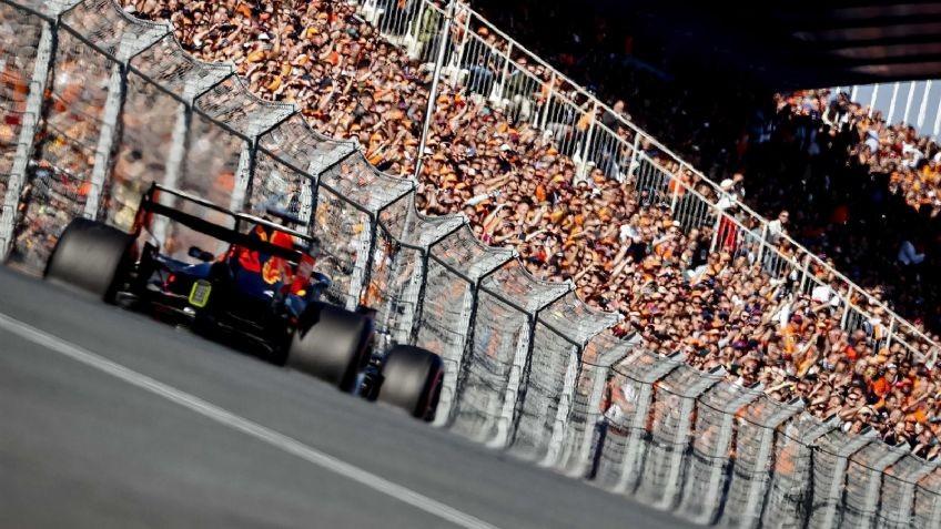 Verstappen se queda con la pole en casa