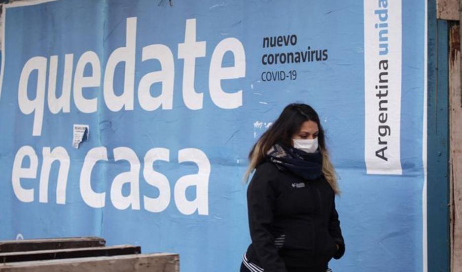 Argentina: confirmaron 1.397 contagios y 67 muertes de COVID-19