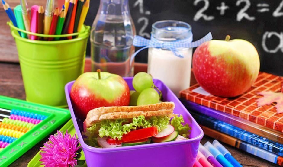 Los escolares debe alimentarse sanamente