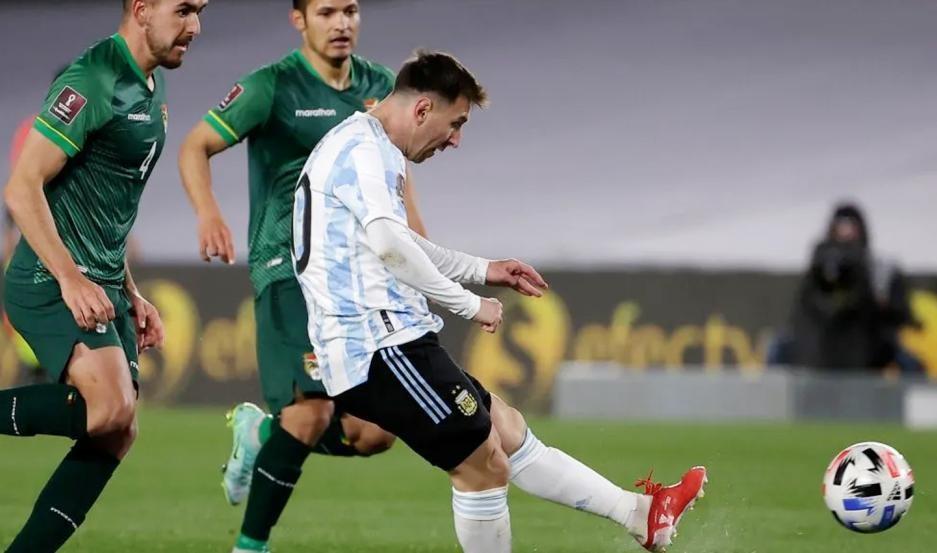 La Argentina derrota a Bolivia por 3 a 0 EN VIVO