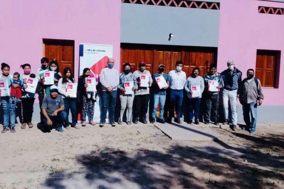 El IPV entregó viviendas y soluciones habitacionales en Tartagal