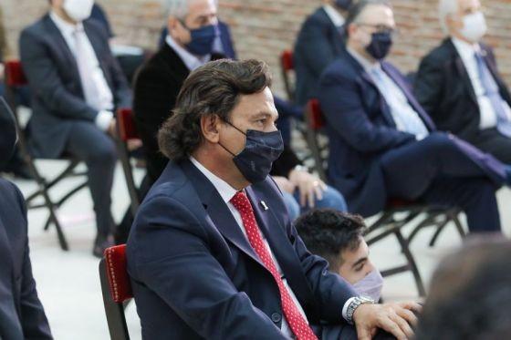 Sáenz acompañó al Presidente en el acto de jura de los nuevos ministros