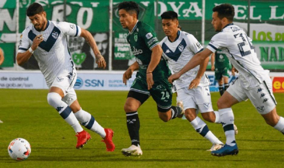 Vélez Sarsfield le ganó a Sarmiento 1-0, en Junín
