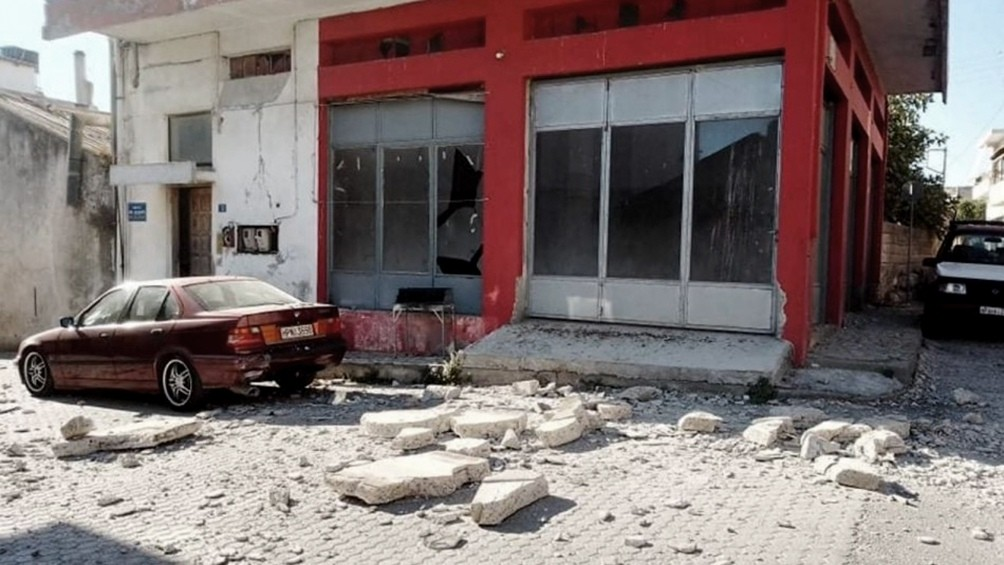 Un terremoto en la isla griega de Creta dejó muertos y heridos