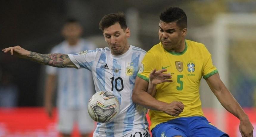 La Selección argentina juega ante Brasil
