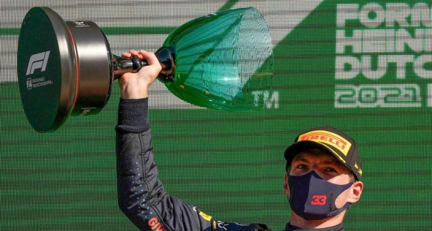 Max Verstappen ganó en su casa
