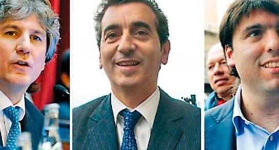 Investigan a Randazzo, Boudou y Bossio