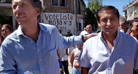 Macri desembarcó en La Rioja de la mano de Ramón Díaz