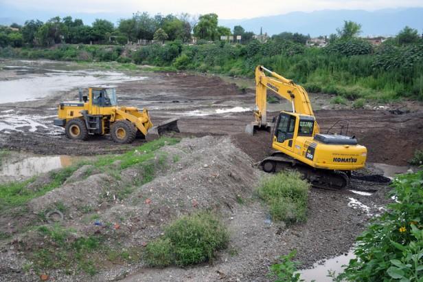 Por las obras de reencauzamiento el río Arenales no presentó problemas durante las lluvias