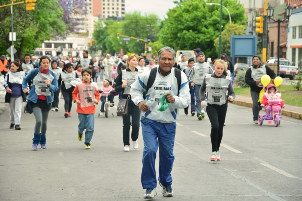 Más de 15.000 salteños apoyaron la maratón de Hirpace