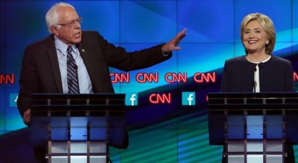 Clinton ganó el debate, pero Bernie se consolidó como el gran retador