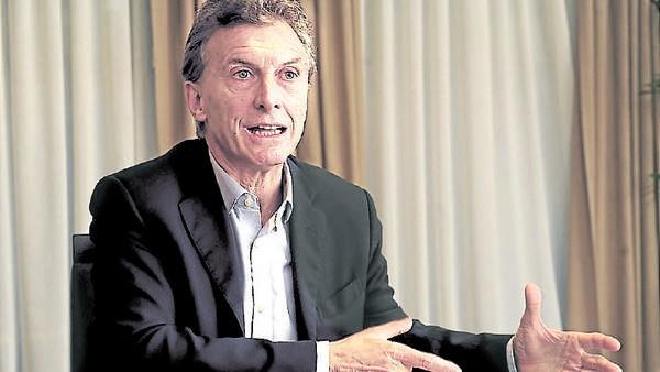 Macri: Puede el domingo repetirse de lo que pasó en Tucumán