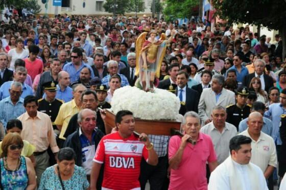 El Bordo celebró su fiesta patronal en honor a San Miguel Arcángel
