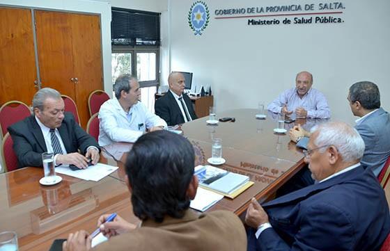 El Ministro de Salud se reunió con los Gerentes de los hospitales de Capital