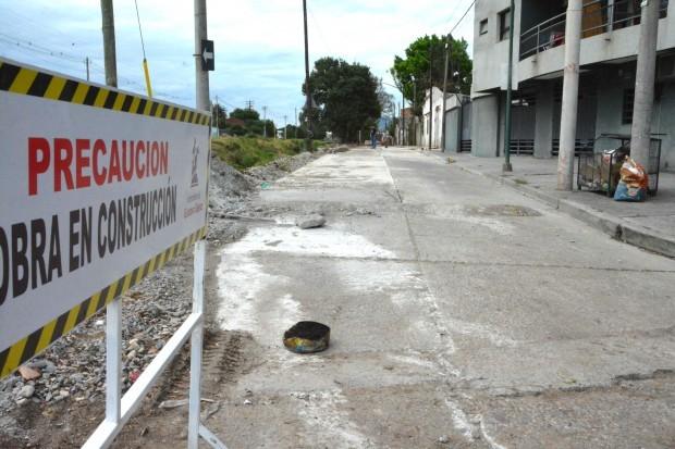 Se reparan las calles en distintos sectores de la ciudad